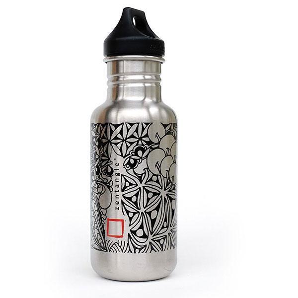 dda2164ba7f4 Zentange Water Bottle from Klean Kanteen ®