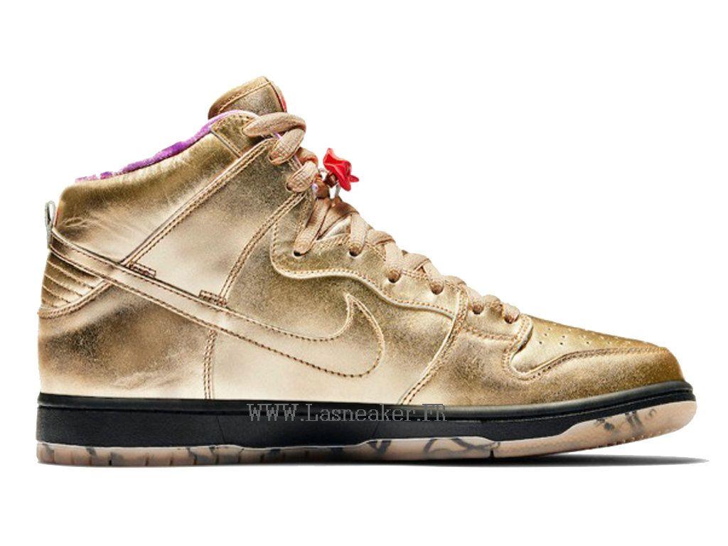 Nike SB Dunk High Trompette Chaussures de basketball Pas Cher Pour ...
