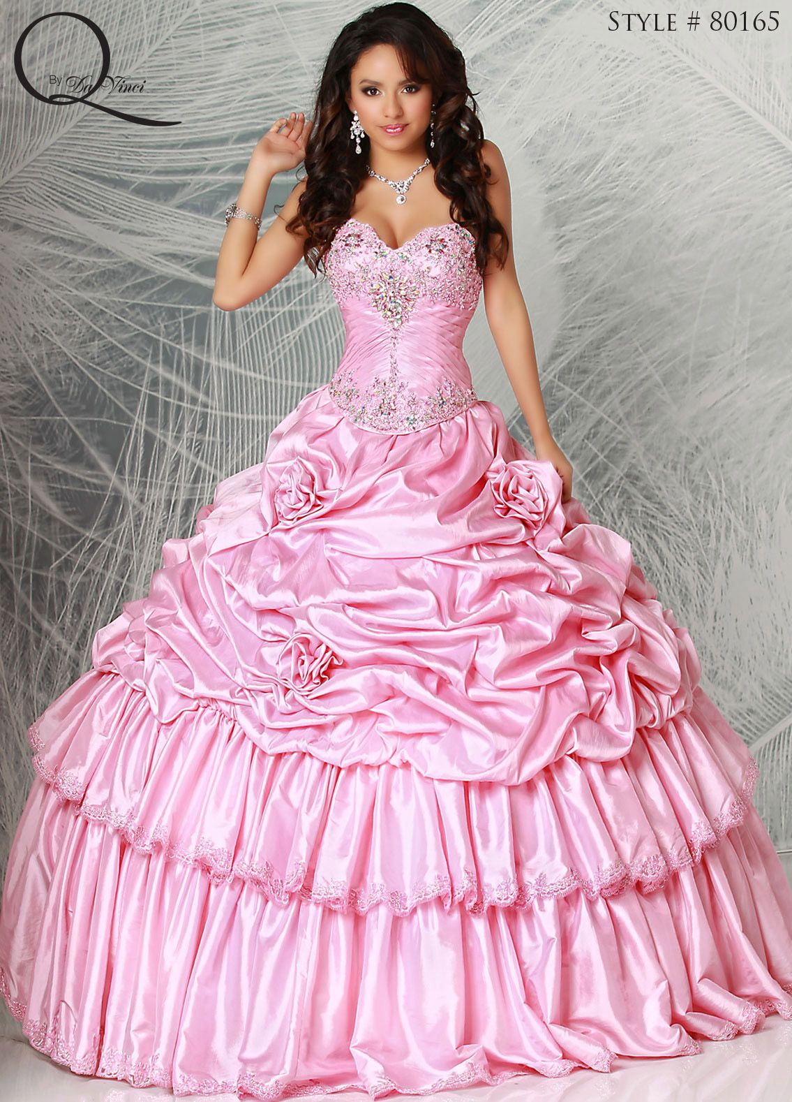 Quinceanera dress ~ Quinceanera dresses from Q by Davinci #quince XV ...