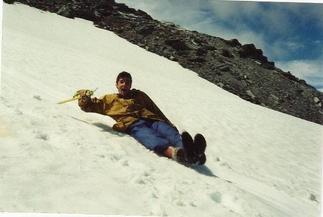 #greatwalker .... whaaaaahooooo.... Snow Slide
