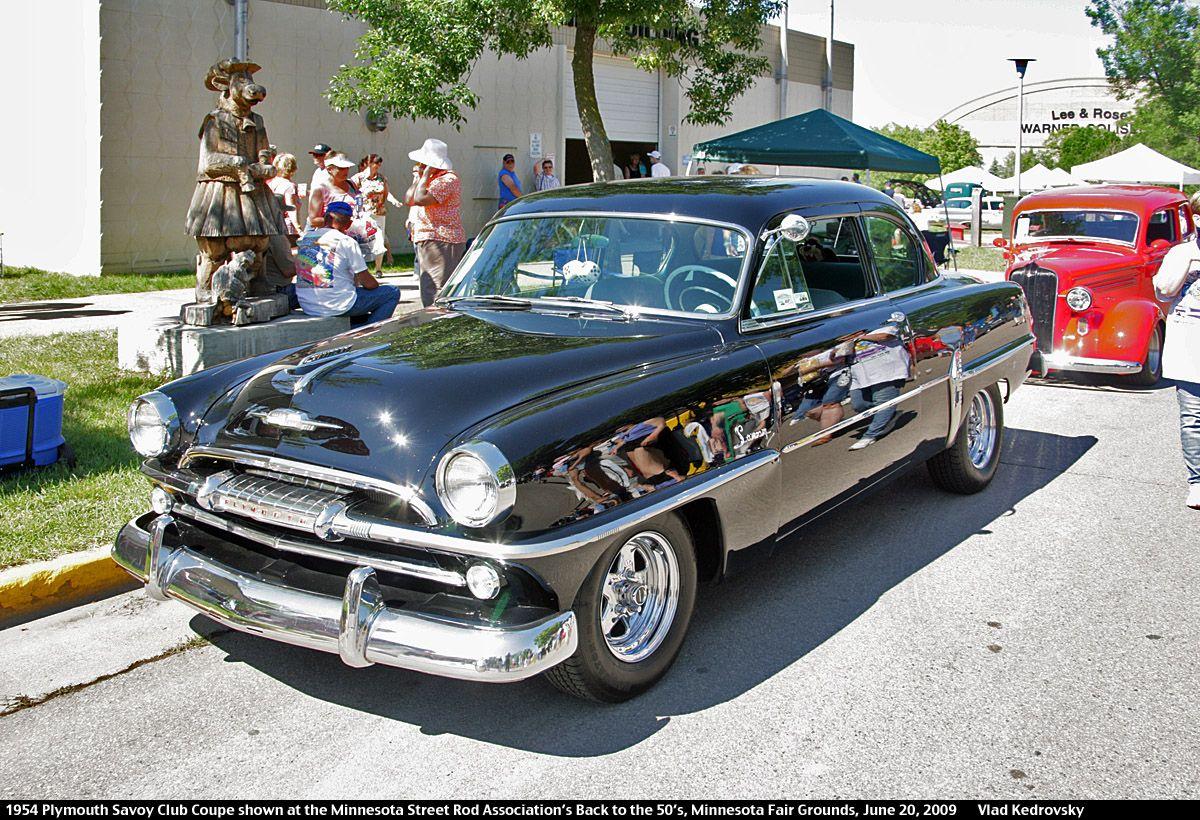 1954 Plymouth Savoy Club Coupe 2dr Blk Fvl Vlad 1200820 1953 Wagon