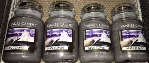 Candles 46782: 4 Yankee Candle 22 Oz Ounce Man Town Jar Lot 4X -> BUY IT NOW ONLY: $98.95 on eBay!