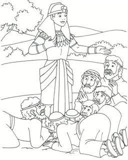 Jose No Egito Paginas De Colorir Da Biblia Desenhos Biblicos