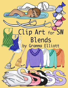 Sw Blends Clip Art Color And Black Line 300dpi Pngs Clip Art Art Color