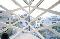 Prada store by Herzog and De Meuron, Omotesando, Tokyo. - Поиск в Google