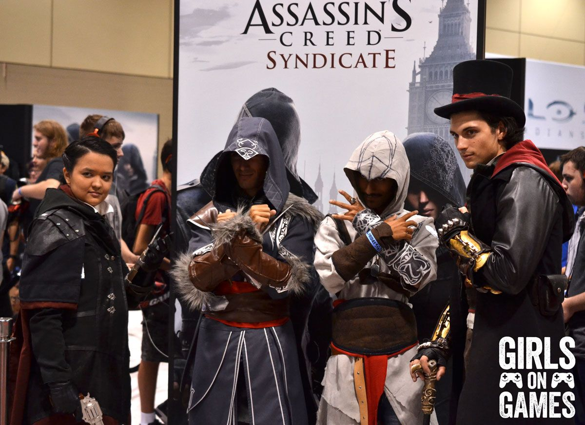 PHOTOS: Assassin's Creed cosplay at Fan Expo 2015