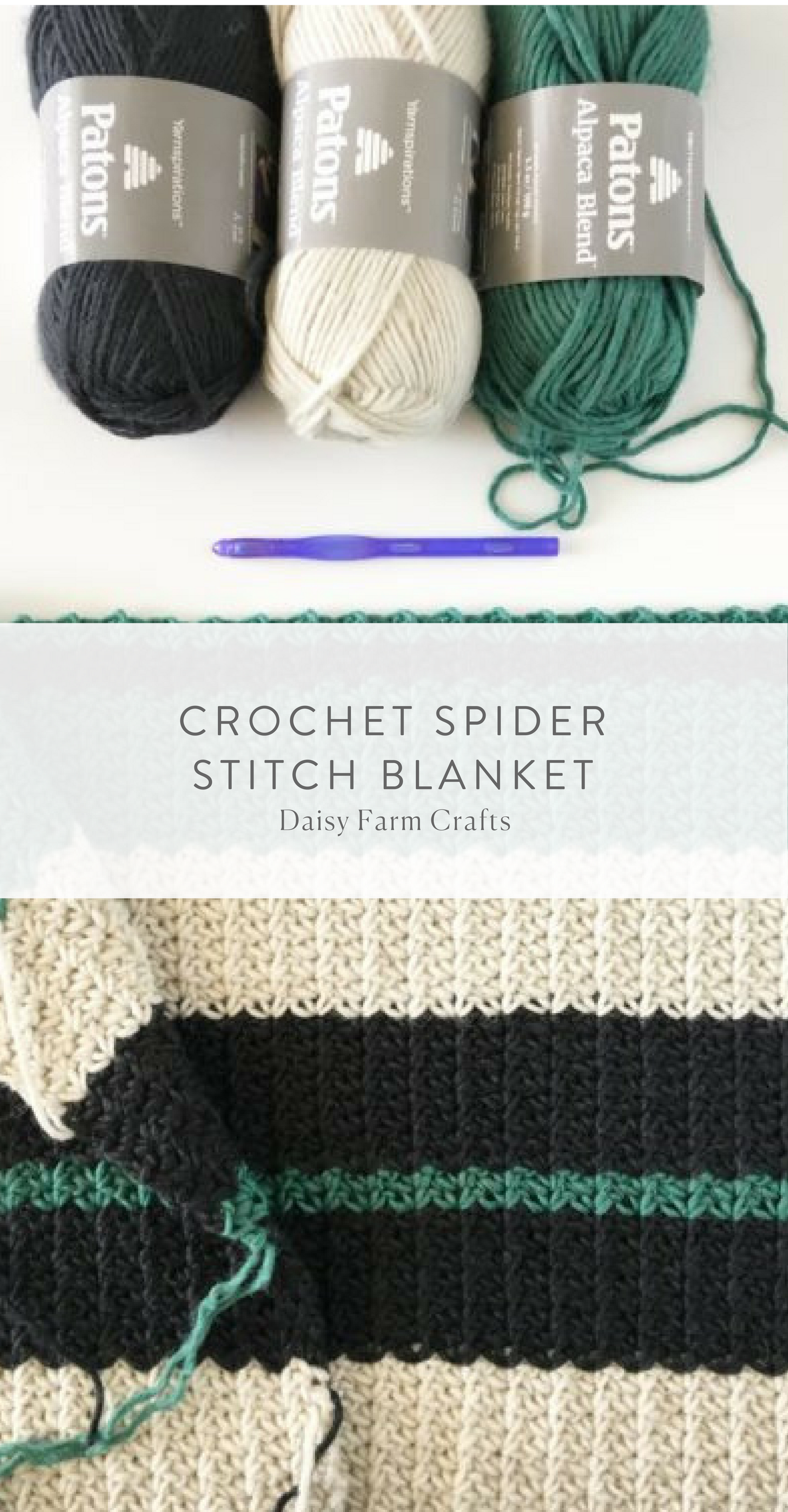 Free Pattern - Crochet Spider Stitch Blanket | Crochet | Pinterest ...