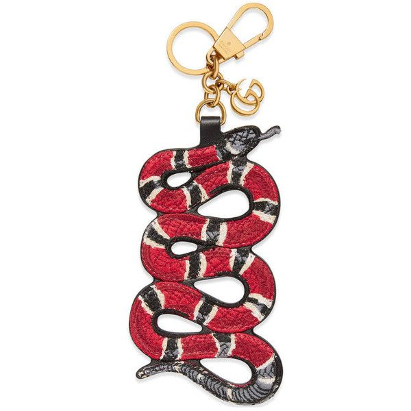 6f9a08457e7 Gucci Snake Keychain ( 370) ❤ liked on Polyvore featuring accessories