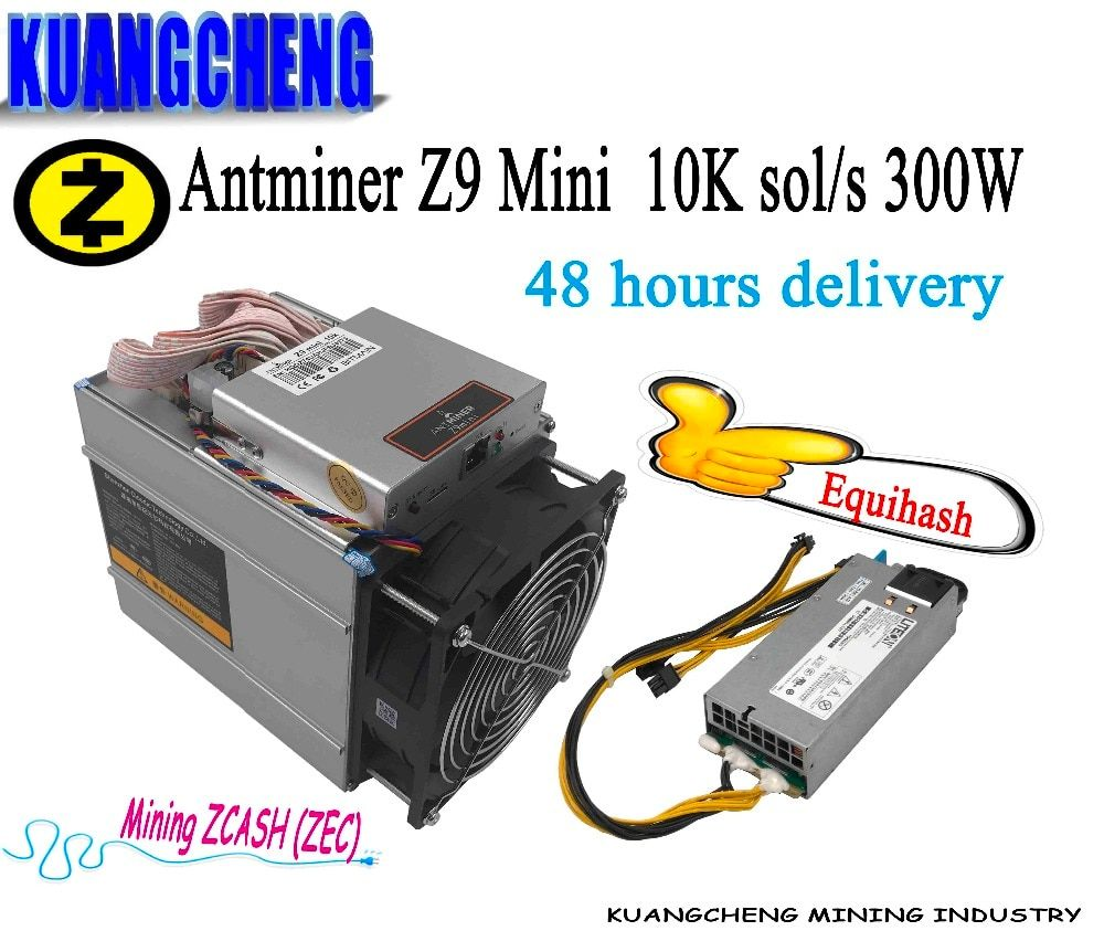 KAUNGCHENG old ZCASH Asic Antminer Z9 Mini 10k (with psu