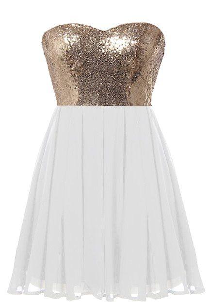 Glitter Fever Dress: Features a mesmerizing sweetheart neckline ...