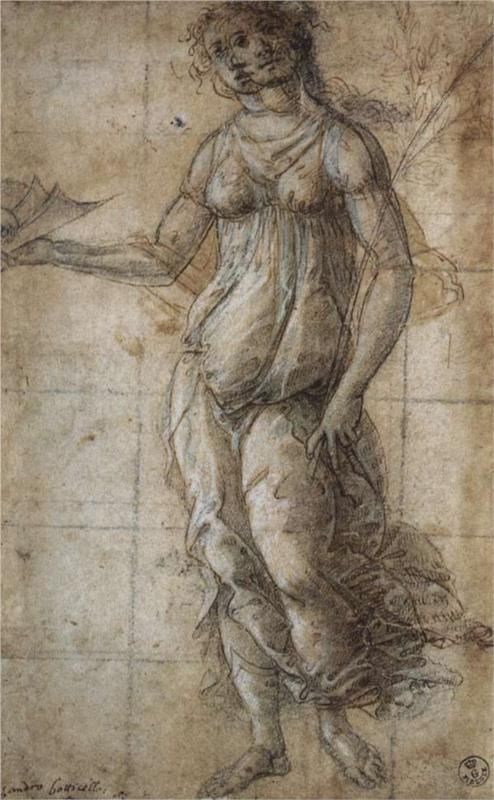 Pallas, Botticelli