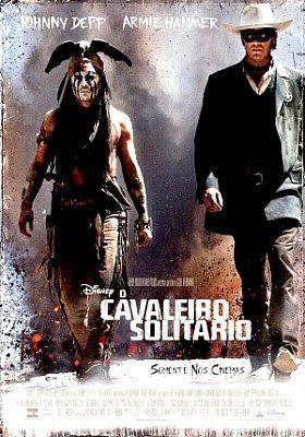 O Cavaleiro Solitário Dublado. / The Lone Ranger Voiced.