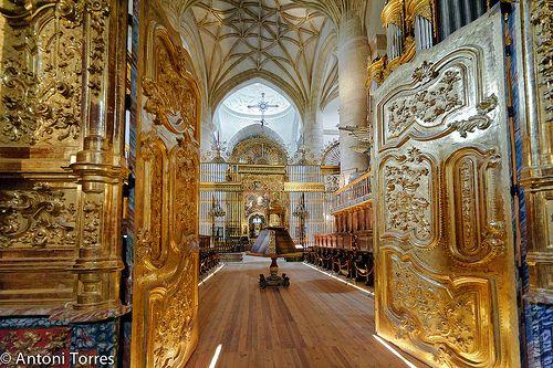 Coro De La Iglesia Del Monasterio De Yuso Cathedral Church Monastery