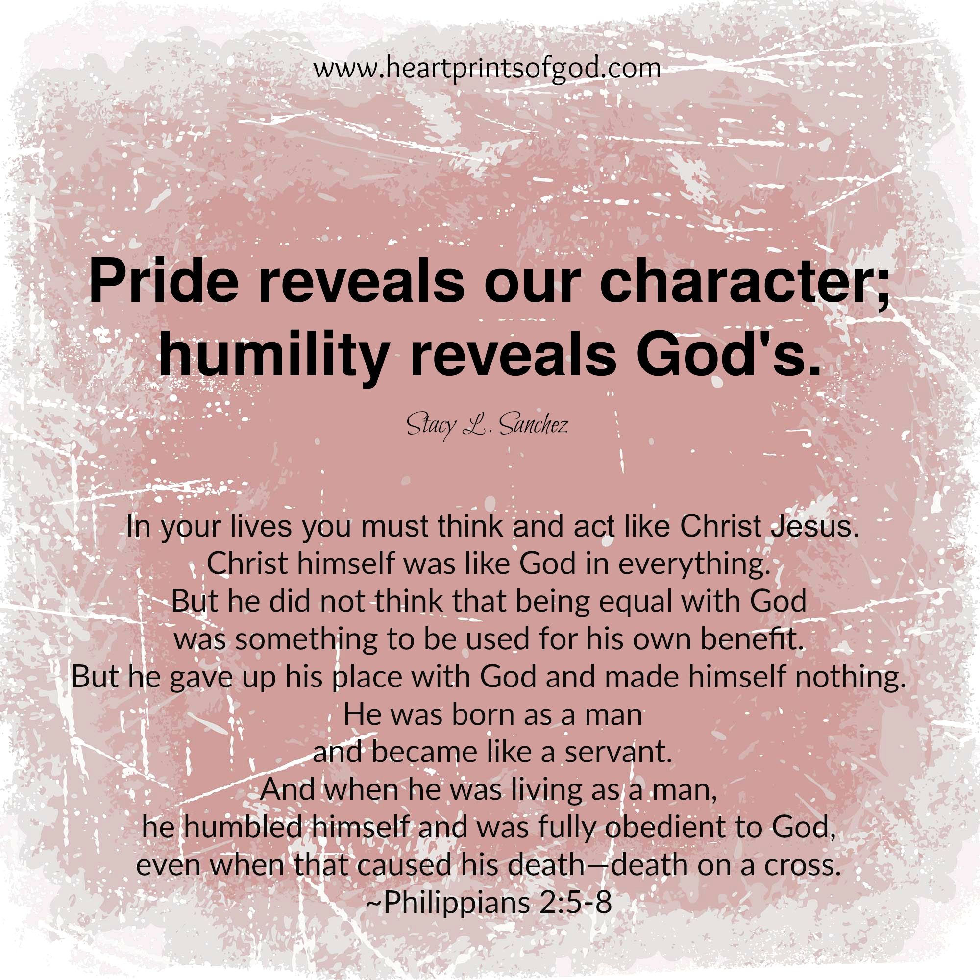 Heartprints Of God Humility