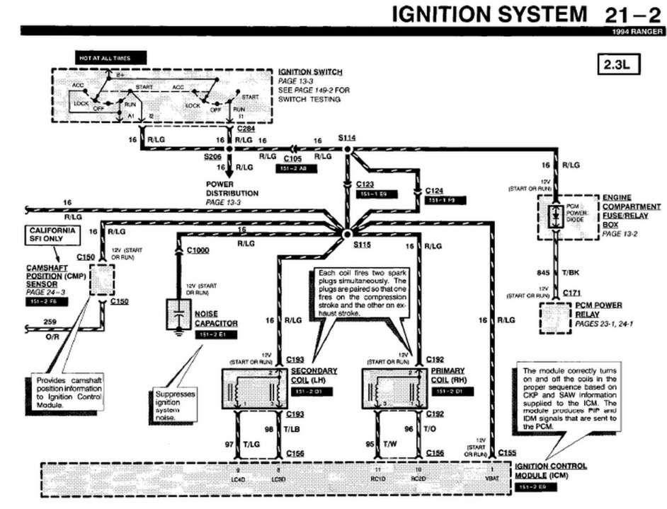 1994 Ford Ranger Fuel Filter Location