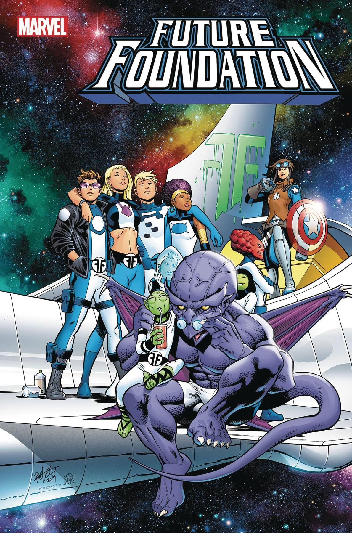 The Final Frontier The Future Foundation Once Banded Together To Help The Fantastic Four Rebuild The Entire Multiverse Now They M Comics Marvel Comics Marvel