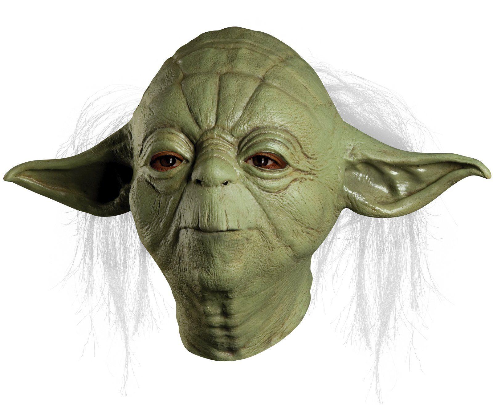 Star Wars Yoda Overhead Latex Mask (Adult)   Halloween masks ...