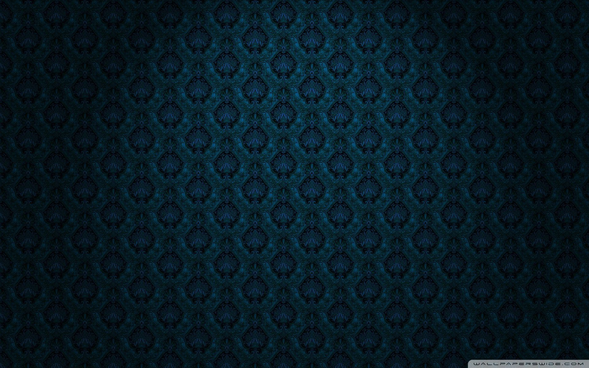 the gallery for gt dark blue victorian wallpaper