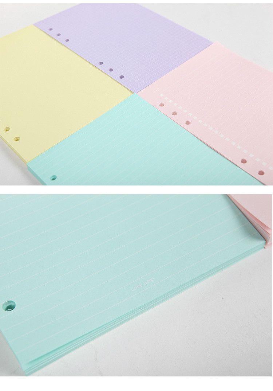 Dokibook colored notepaper