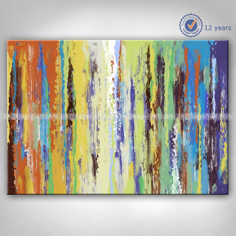 Shenzhen Dafen High Quality Custom Wall Abstract Canvas Oil Handmade ...