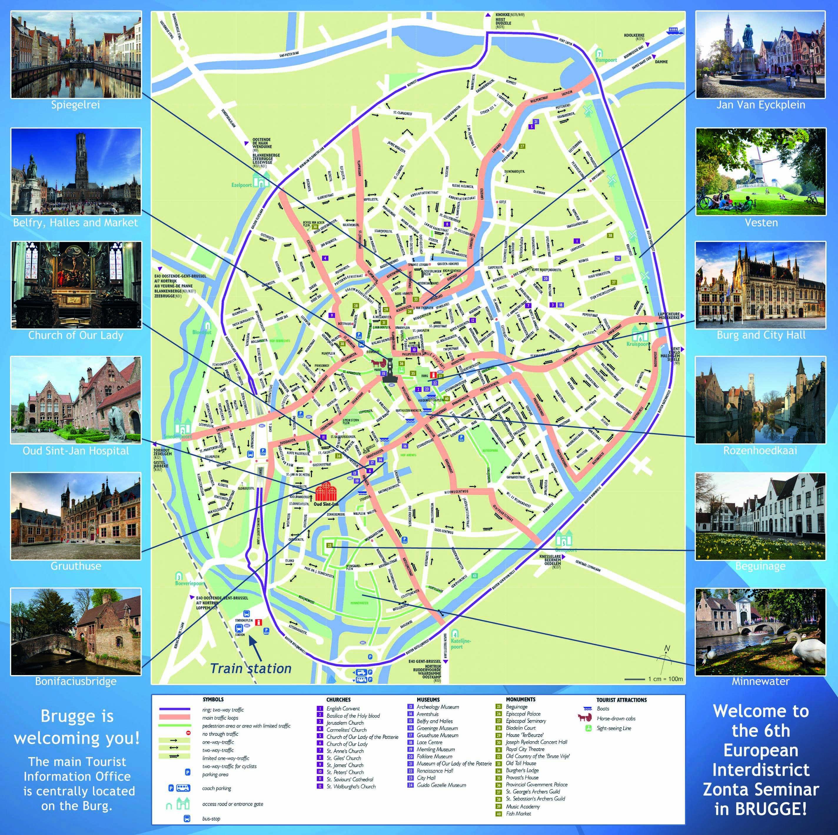 Mapa Turistico Brujas My Blog Mapa Turístico Bruselas Brujas Brujas