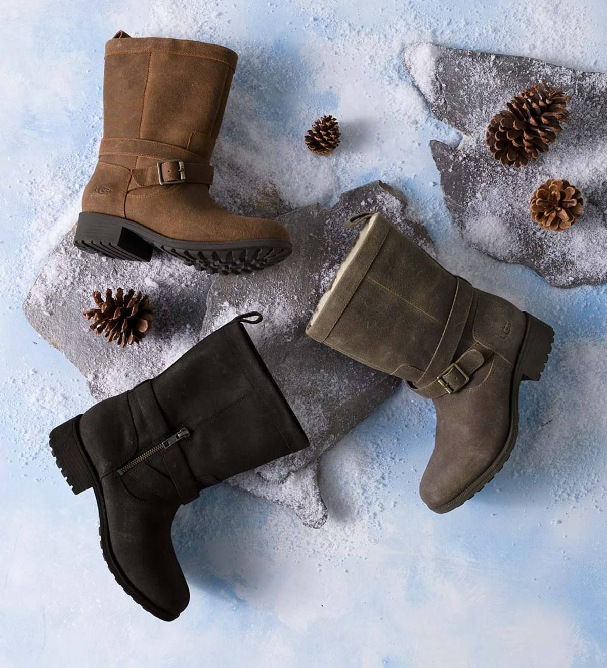 24aa41268b6 UGG Glendale Boots are both stylish and warm with soft, curly ...