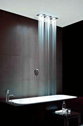 Rain Shower Over Bath Bathrooms Pinterest Rain