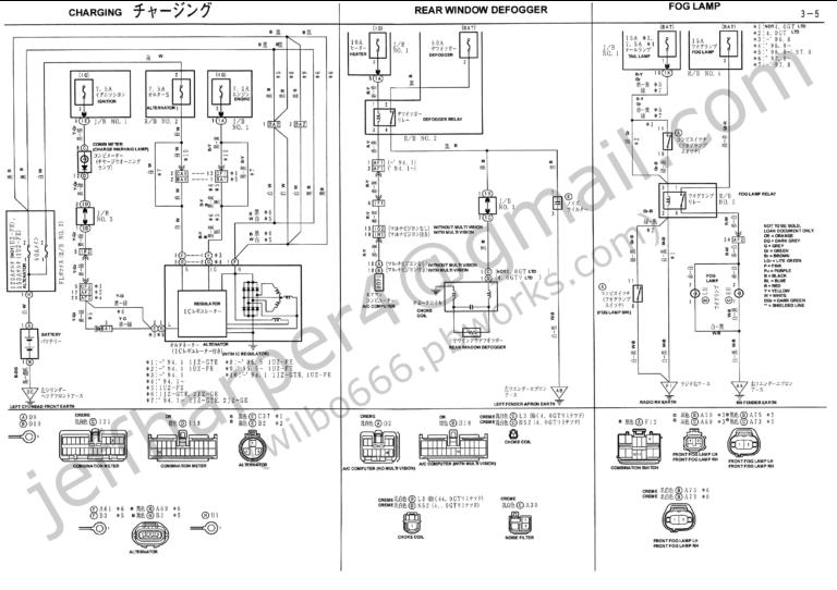 Wilbo666 1JZ GTE JZZ30 Soarer Engine Wiring Within 1Jz Diagram