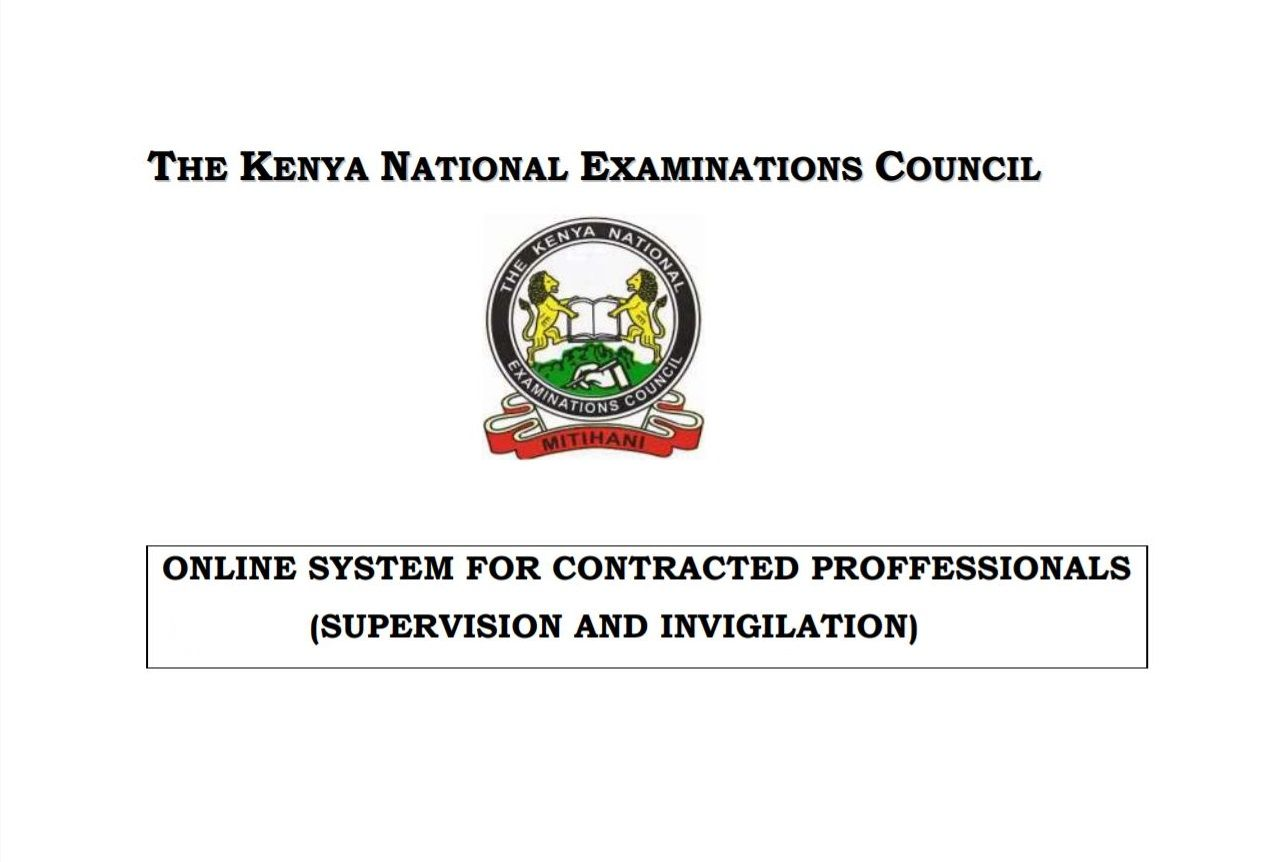 How to apply for knec examiner 2019 supervisor
