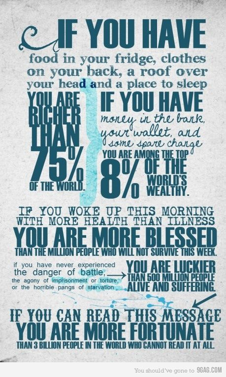 ...we truly are fortunate!