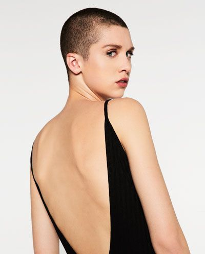 Image 6 of BODYSUIT WITH LOW CUT BACK from Zara