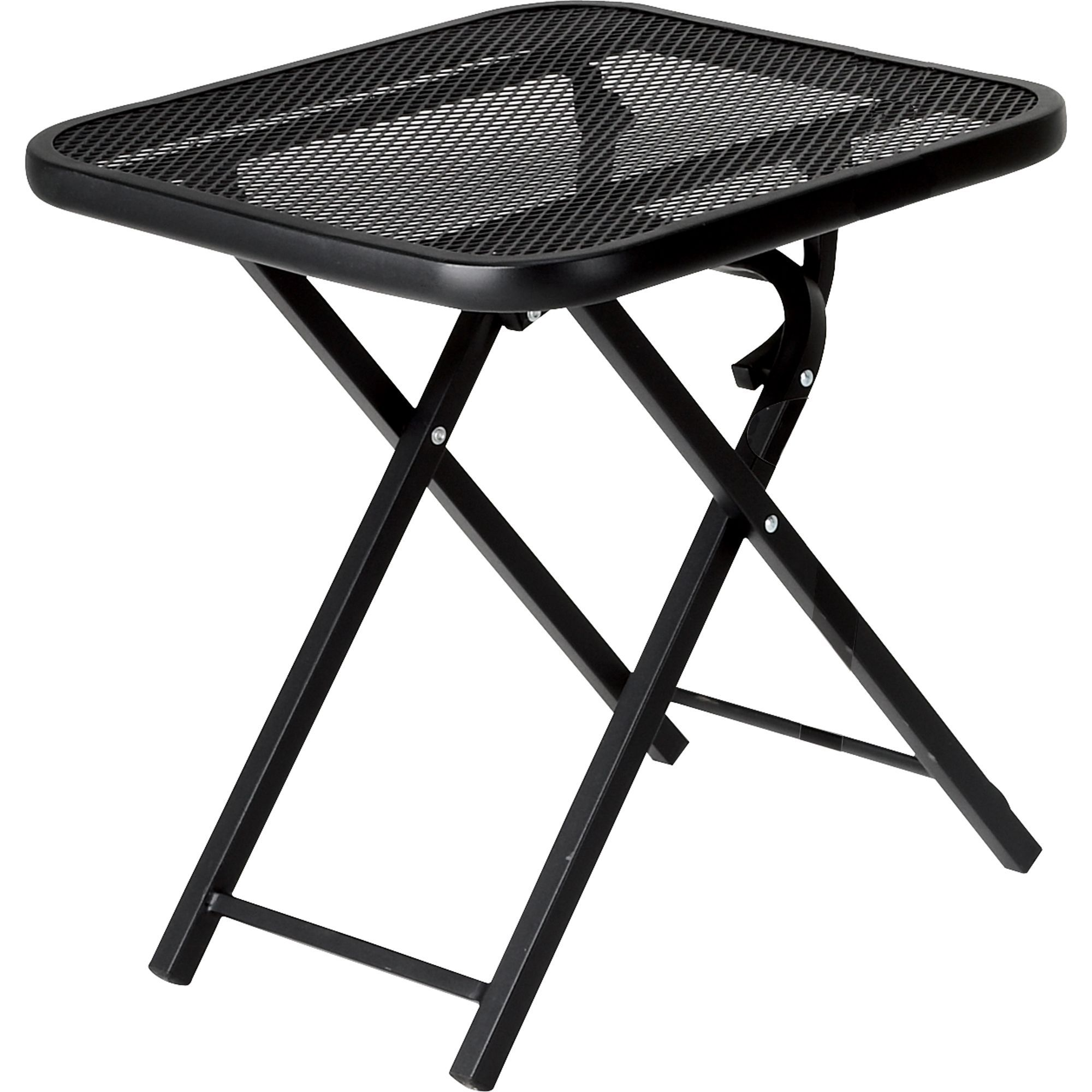 Garden Oasis Wrought Iron Folding Patio Table Outdoor Living