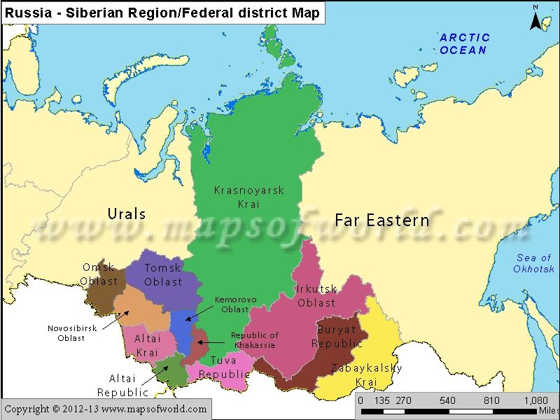 Russia Siberian Region Map Cartograpy Pinterest Russia - blank road map