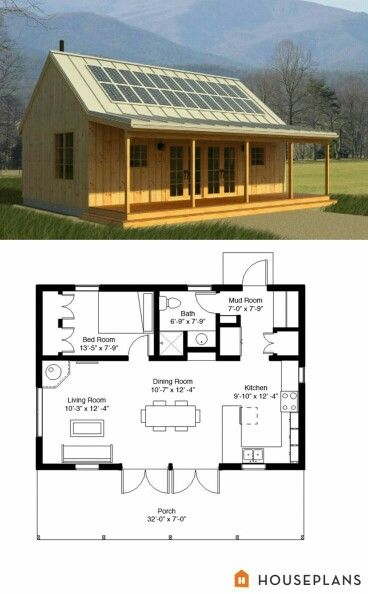 Just Needs A Basement House Plans Tiny House Plans Small House Plans