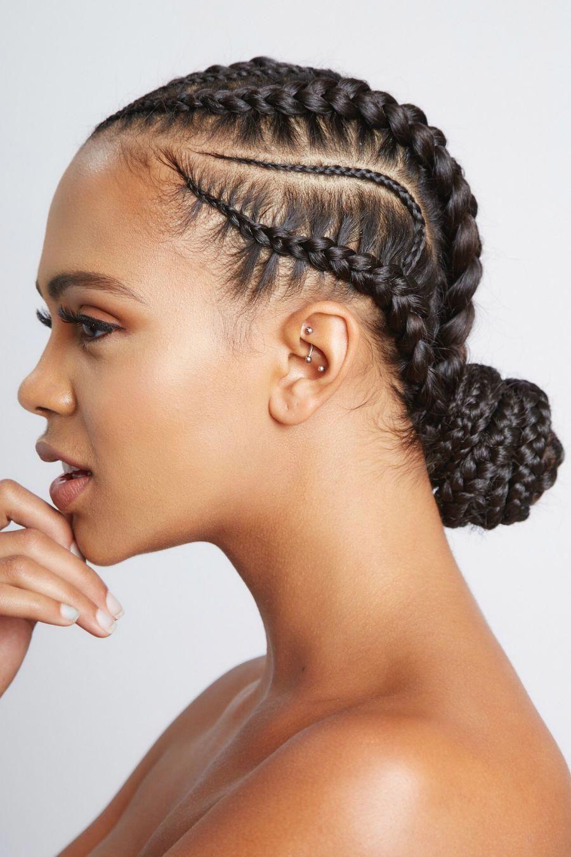 Stitch Braid Cornrows 3 10 Braids In 2020 Braided Hairstyles