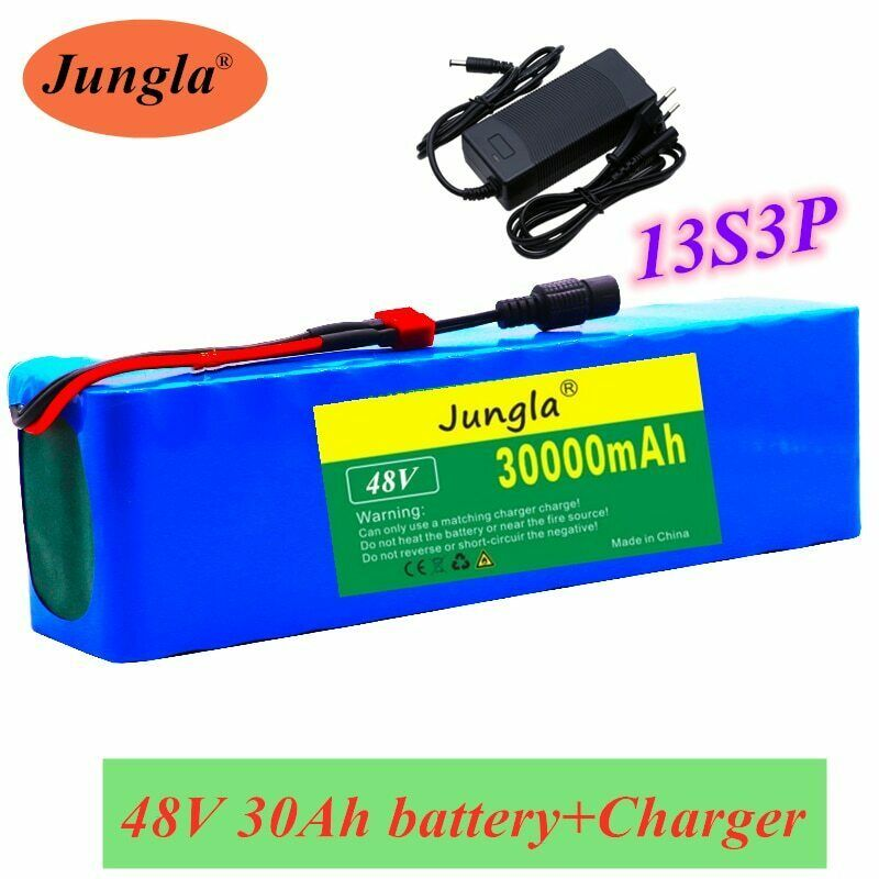 Jungla 48v 30h 13s3p Li Ion Battery Pack For E Bike With Discharge Bms Chager In 2020 Ebike Electric Bicycle Electric Bike