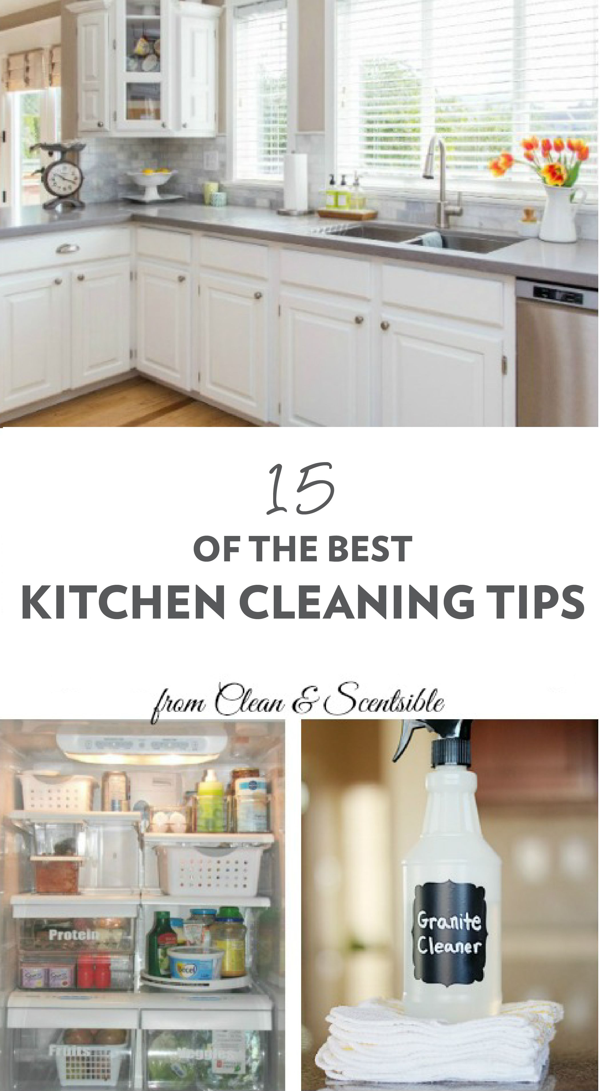 The Best Kitchen Cleaning Tips   The Cook\'s Community ...