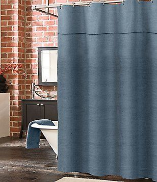 Southern Living Camden Linen Shower Curtain Shower Curtain