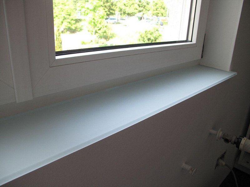Glas-Fensterbank - GLASWELT 24 l Glasschiebetüren l Glastrennwände ...
