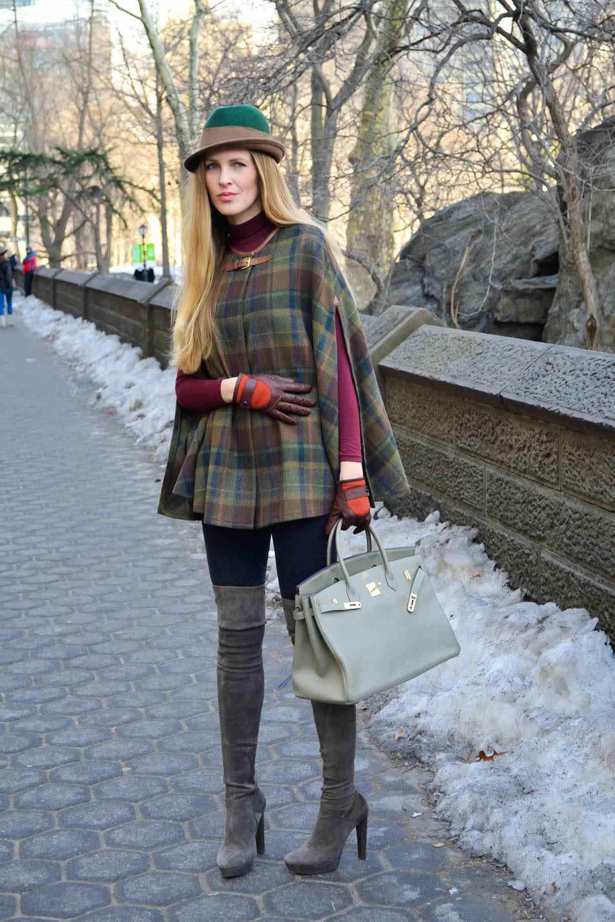 e2c6174840cb2 Kış Kombinleri – Ekose Kışlık Kıyafet Kombinleri | dış giyim | Ekose ...