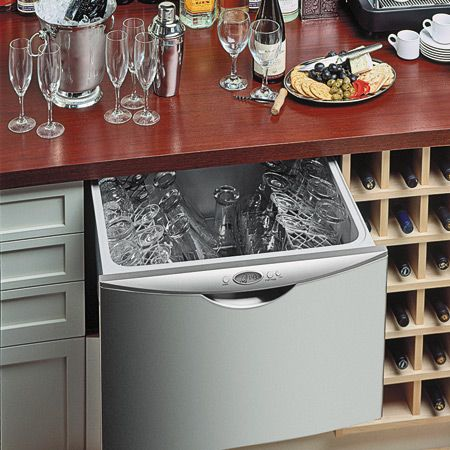 Dishwasher Drawer For Bar Area. Mini Dishwasher, Drawer Dishwasher, Under  Sink Dishwasher,