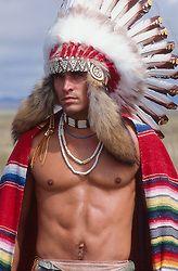 american indian shirtless Gay
