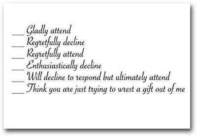 Wedding Invite Wording Funny