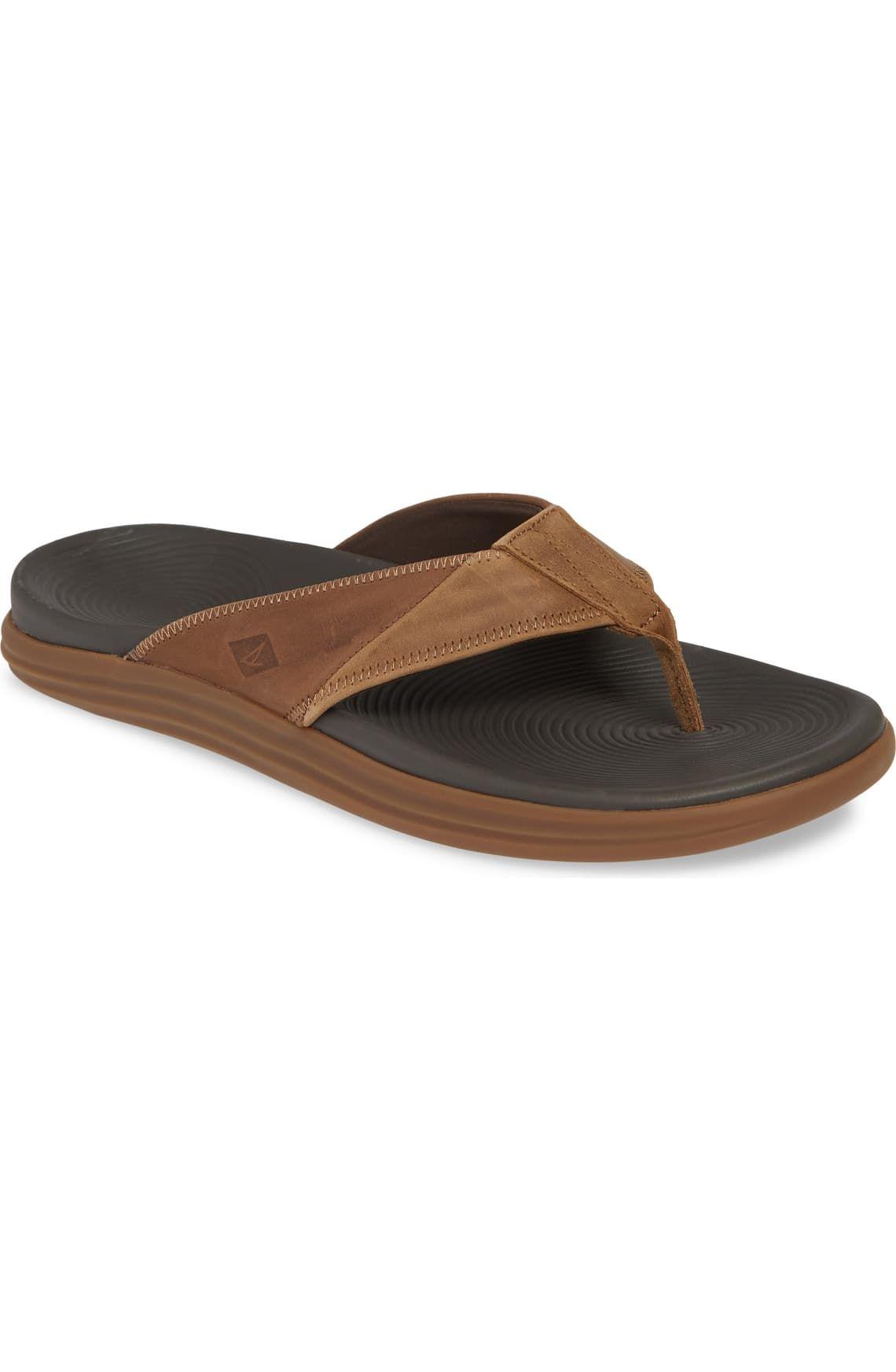 Mens leather sandals, Flip flop shoes