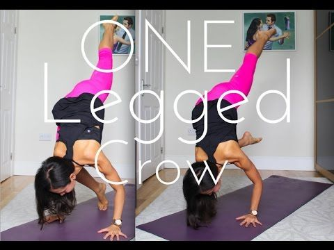 how to do one legged crow ek pada bakasana yoga with