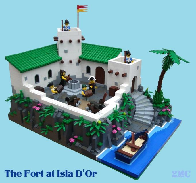 The Fort as Isla D'Or
