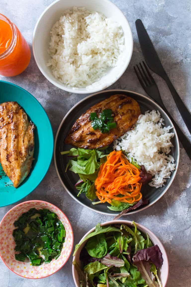 17 Healthy Make Ahead Work Lunch Ideas Foood Chicken Meal