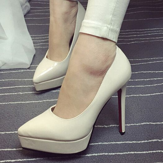 Europe Sexy Women Shoes Red Bottom High Heels Pumps Spring
