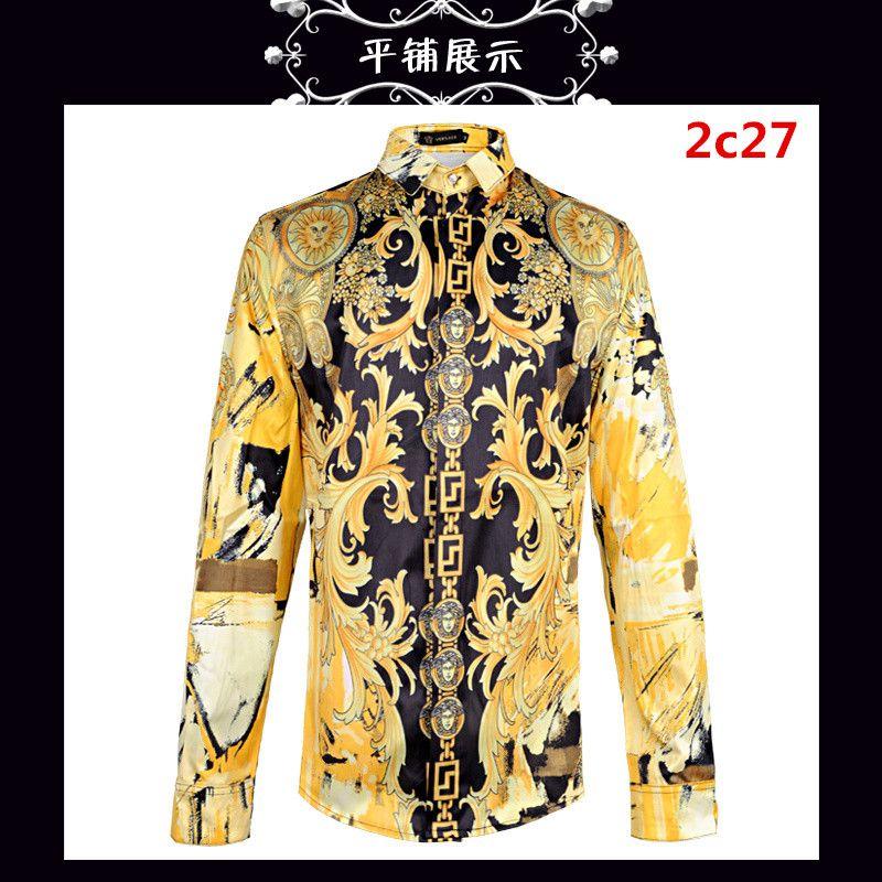 6f02ac7de80 Cheap Versace Shirts Long Sleeved In 97026 For Men, $42.60 On Versace Shirts