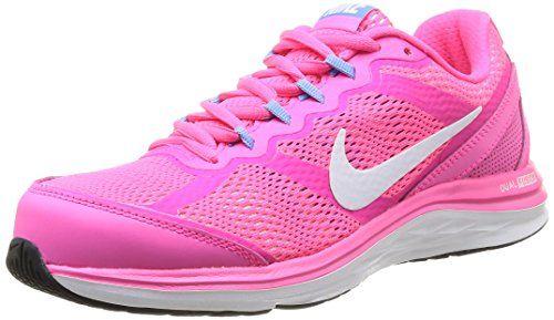 c974c85c698ef Nike Women s Dual Fusion Run 3 Hyper Pink White Unvsrty Blue Running Shoe  5.5